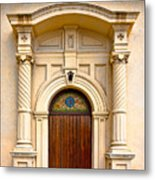Ornate Entrance Metal Print by Christopher Holmes