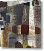 Os1957bo016 Abstract Landscape Of Potosi Bolivia 20.3 X 28.9 Metal Print by Alfredo Da Silva