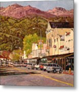 Our Town Metal Print by Paul Youngman