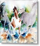 Out Of Nowhere Metal Print by Christie Michelsen