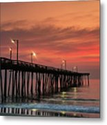Outer Banks Sunrise Metal Print by John Greim
