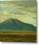 Outside Of Taos Metal Print by Phyllis Tarlow