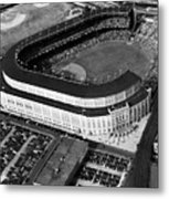 Over 70,000 Fans Jam Yankee Stadium Metal Print by Everett