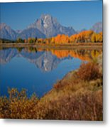 Oxbow Bend Metal Print by Idaho Scenic Images Linda Lantzy