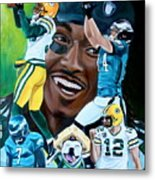Packers  Glorious Moments Metal Print by Dawn Graham