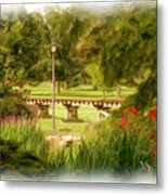 Paint In The Park Metal Print by Jim  Darnall