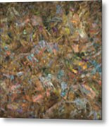 Paint Number 18 Metal Print by James W Johnson