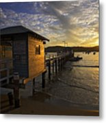 Palm Beach Sunset Metal Print by Avalon Fine Art Photography