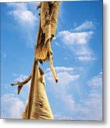 Paperbark Tree Metal Print by Christine Till