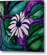 Paradise Flower Metal Print by Marsha Heiken