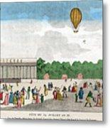 Paris: Bastille Day, C1801 Metal Print by Granger
