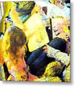 Party Overload Metal Print by JoAnn SkyWatcher