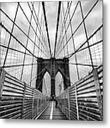 Passing The Future On Your Way There Metal Print by John Farnan