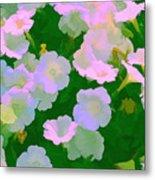 Pastel Flowers Metal Print by Tom Prendergast