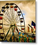 Patch Of Blue Metal Print by Bob Orsillo