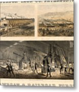 Paterson Iron Company Metal Print by Granger