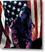 Patriotic Thoughts Metal Print by David Patterson