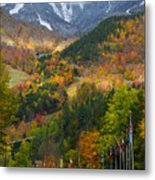 Peaked Metal Print by Mark Papke