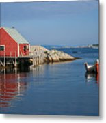 Peggys Cove Metal Print by Thomas Marchessault