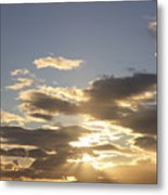 People Silhouette Sunset Metal Print by Brandon Tabiolo - Printscapes