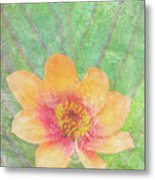 Perfect Peach Metal Print by JQ Licensing