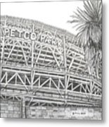 Petco Park Metal Print by Juliana Dube