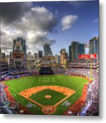 Petco Park Opening Day Metal Print by Shawn Everhart