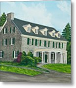 Phi Gamma Delta Metal Print by Charlotte Blanchard