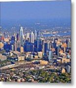 Philadelphia Aerial  Metal Print by Duncan Pearson