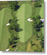 Philadelphia Cricket Club Militia Hill Golf Course 14th Hole Metal Print by Duncan Pearson