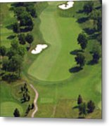 Philadelphia Cricket Club Militia Hill Golf Course 16th Hole 2 Metal Print by Duncan Pearson
