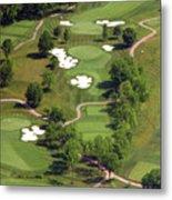 Philadelphia Cricket Club Militia Hill Golf Course 5th Hole Metal Print by Duncan Pearson