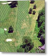 Philadelphia Cricket Club St Martins Golf Course 8th Hole 415 W Willow Grove Ave Phila Pa 19118 Metal Print by Duncan Pearson