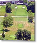 Philadelphia Cricket Club St Martins Golf Course 9th Hole 415 W Willow Grove Ave Phila Pa 19118 Metal Print by Duncan Pearson