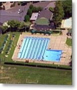 Philadelphia Cricket Club St Martins Pool 415 West Willow Grove Avenue Philadelphia Pa 19118 4195 Metal Print by Duncan Pearson