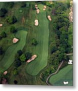 Philadelphia Cricket Club Wissahickon Golf Course 12th Hole Metal Print by Duncan Pearson