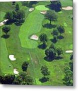 Philadelphia Cricket Club Wissahickon Golf Course 13th Hole Metal Print by Duncan Pearson