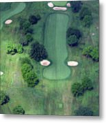 Philadelphia Cricket Club Wissahickon Golf Course 14th Hole Metal Print by Duncan Pearson