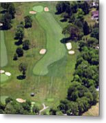 Philadelphia Cricket Club Wissahickon Golf Course 16th Hole Metal Print by Duncan Pearson