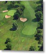 Philadelphia Cricket Club Wissahickon Golf Course 17th Hole Metal Print by Duncan Pearson