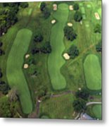Philadelphia Cricket Club Wissahickon Golf Course 1st Hole Metal Print by Duncan Pearson