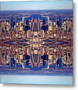 Philadelphia Geometric Collage Metal Print by Duncan Pearson