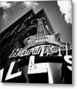 Philadelphia Hard Rock Cafe  Metal Print by Bill Cannon