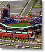 Phillies Citizens Bank Park Metal Print by Duncan Pearson
