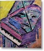 Piano Pink Metal Print by Anita Burgermeister
