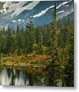Picture Lake Vista Metal Print by Mike Reid