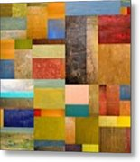 Pieces Project Lll Metal Print by Michelle Calkins