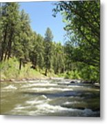 Piedra River Metal Print by Eric Glaser