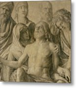 Pieta Metal Print by Giovanni Bellini