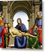 Pieta Metal Print by Pietro Perugino